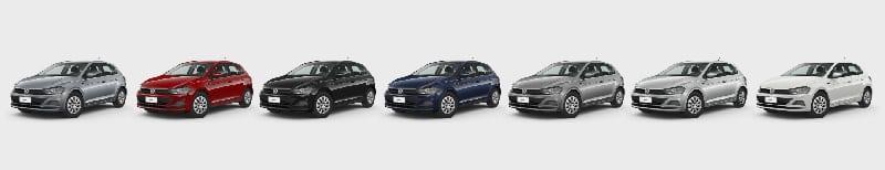 Colores Disponibles Volkswagen Nuevo Polo Plan Nacional Autos