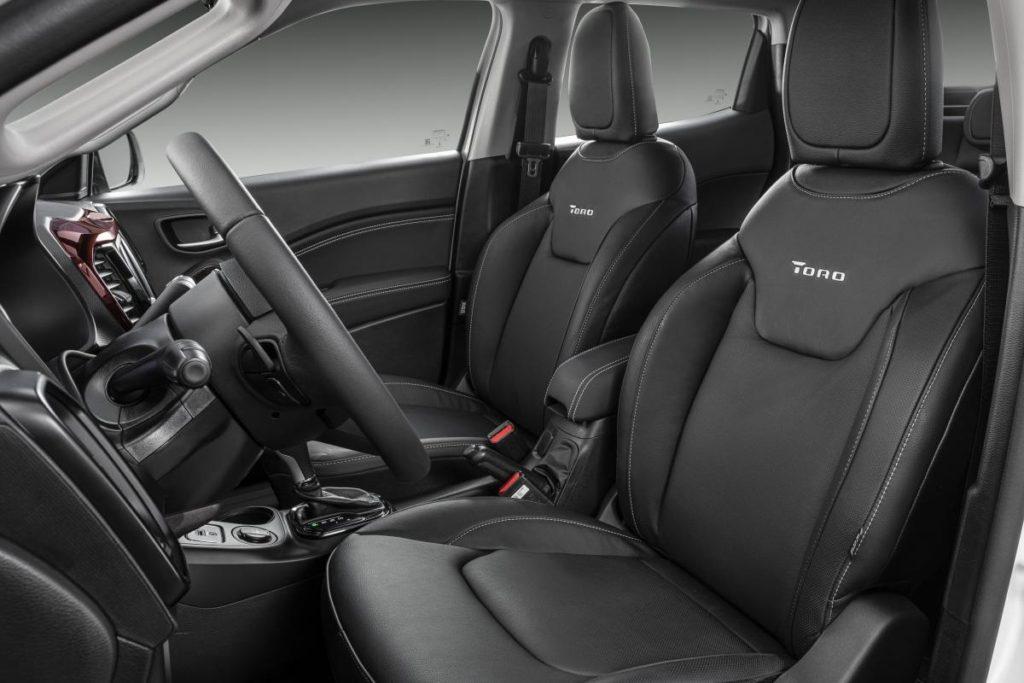 Interior y exterior Fiat Toro Plan Nacional Autos
