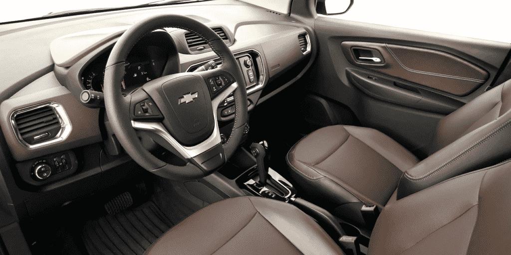 Interior y exterior Chevrolet Spin Plan Nacional Autos