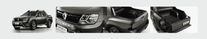 Interior y exterior Renault Duster Oroch Plan Nacional Autos