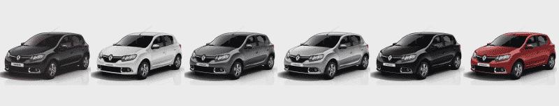 Interior y exterior Nuevo Renault SANDERO Plan Nacional Autos