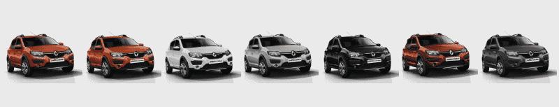 Colores Disponibles Nuevo Renault STEPWAY Plan Nacional Autos