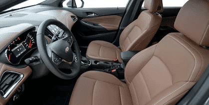 Interior y exterior Chevrolet Cruze Plan Nacional Autos