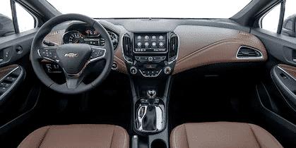 Interior y exterior Chevrolet Cruze 5 Plan Nacional Autos