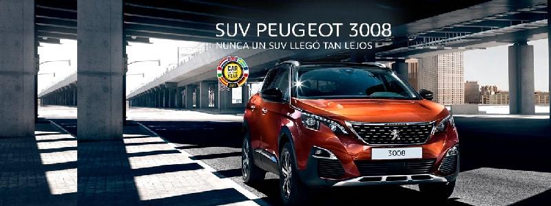 Peugeot 3008 Plan Nacional