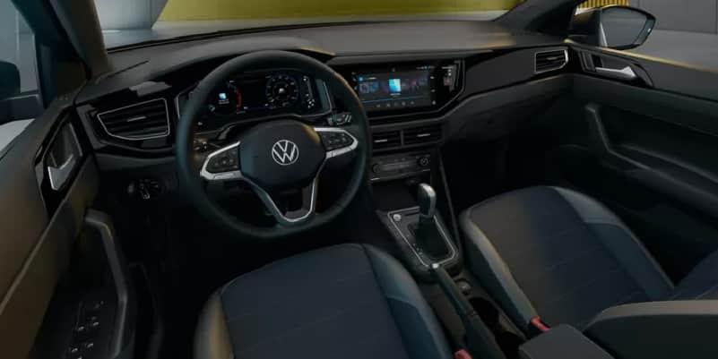 Interior Volkswagen Nivus plan Nacional