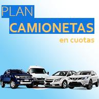 Camionetas en Plan Nacional